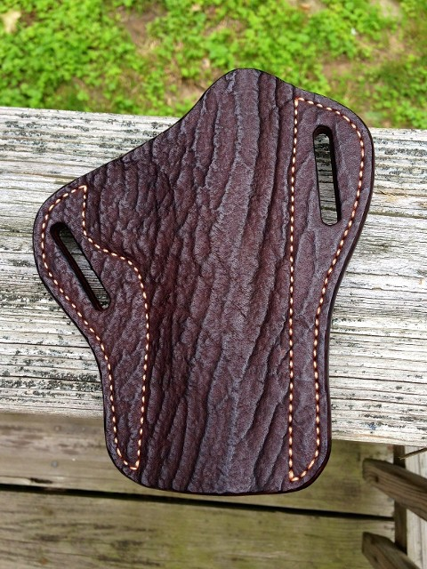 Exotic Leather Pancake Holster Hill Country Leather